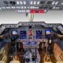 hawker 850XP cockpit 2